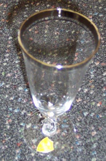 "Juice 6 1/8"" Tiffin Stemware Glass(es) Crystal Wine Champagne Flute- Sarita by Tiffin-Franciscan"