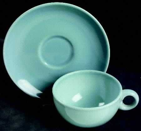 Iroquois Casual China by Russel Wright - Ice Blue - Saucer Only