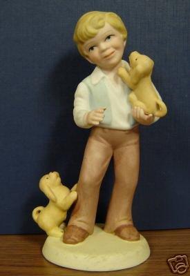 Vintage Avon Figurine Best Friends 1981 No Box 101-2645