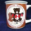 HALLMARK Little Tender Loving BEAR MUG 101-2647 Coffee Lover Gift