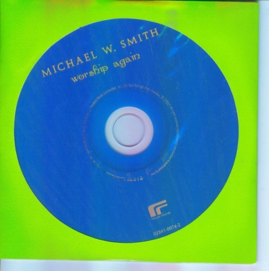 Michael W Smith ~ Worship Again ~ Inspirational Music CD