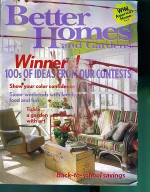 Better Homes and Gardens Magazine ~ August 2005 ~ Gently Read Copy Back Issue