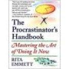 The Procrastinator's Handbook ~ Rita Emmett ~ Hardcover