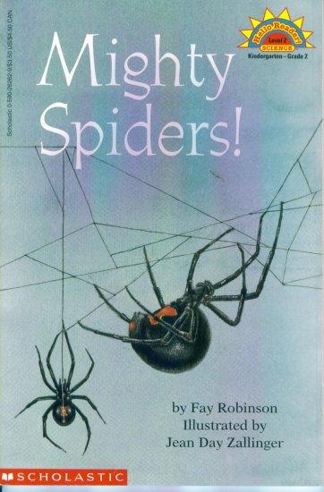 Hello Reader Science Level 2 Mighty Spiders Kindergarten - Grade 2 location102