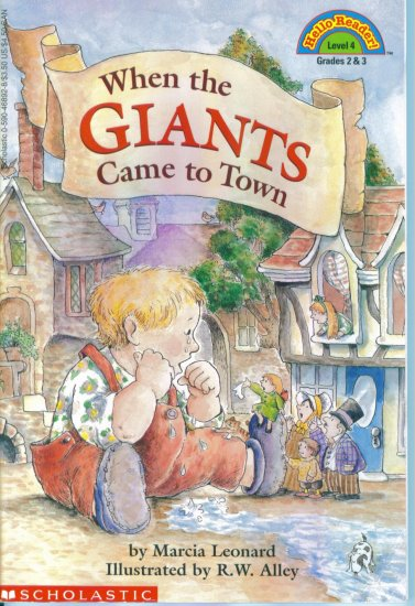 Hello Reader Level 4 When The Giants Came to Town Marcia Leonard location102