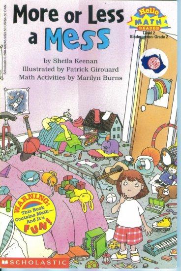 Hello Math Reader Level 2 More or Less a Mess Sheila Keenan location102