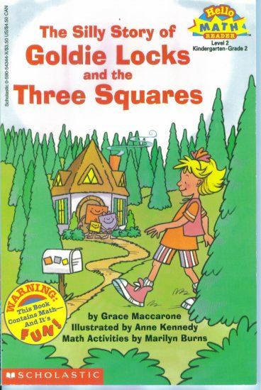Hello Math Reader The Silly Story of Goldie Locks & the Three Squares Grace Maccarone location102