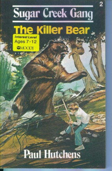 The Killer Bear Paul Hutchens Children's Chapter Book Wholesome Sugar Creek Gang location28