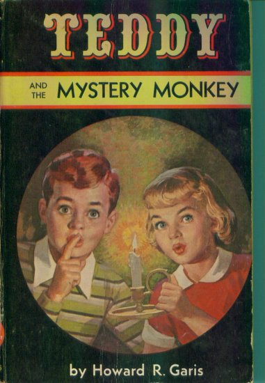 Teddy and The Mystery Monkey Howard R Garis Trade Paperback Rare Out of Print location96