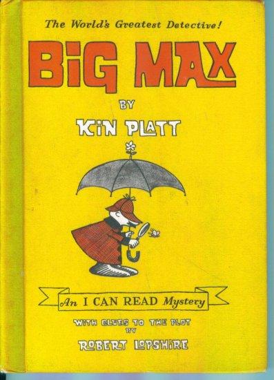 Big Max The World's Greatest Detective ~ Kin Platt ~ An I Can Read Mystery ~ Childrens