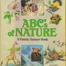 Reader's Digest ABCs of Nature ~ A Family Answer Book ~ Hardcover ~ Natural History