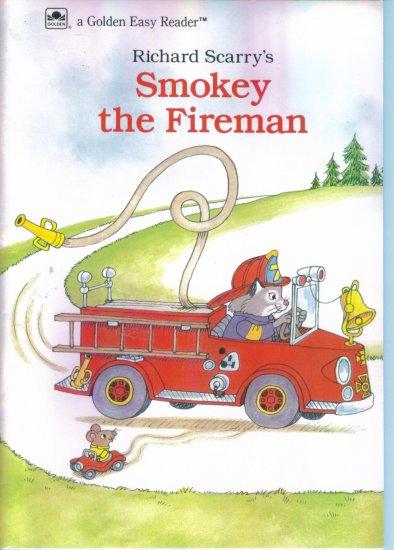 Richard Scarrys Smokey The Fireman ~ A Golden Easy Reader location96