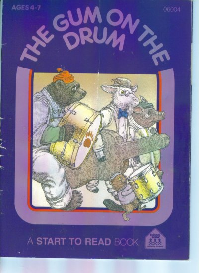 The Gum on The Drum ~ A Start To Read Book ~ School Zone ~ Ages 4 - 7 ~ 06004 location96