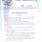 Wee Lambs Volume 33 No. 6 February  11 1996 ~ Rod and Staff Publishers ~ Back Issue Leaflet