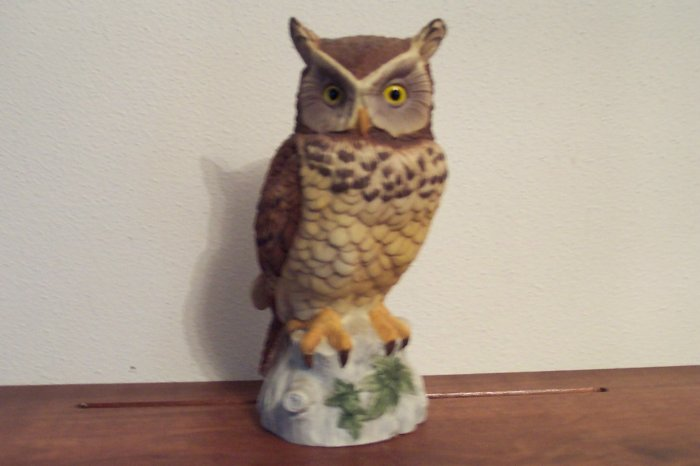 Owl by Andrea 9339 Figurine ~ Andrea by Sadek Made in Japan box21