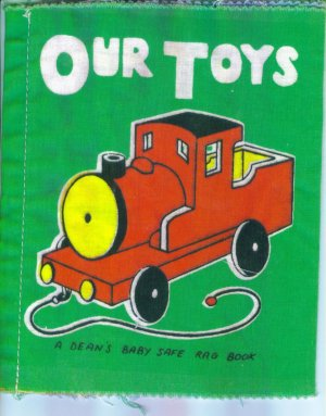 Vintage Baby Books Our Toys Dean's Rag Book Made in Gt. Britain Cloth location3