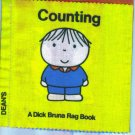 Vintage Baby Books Counting  A Dick Bruna Rag Book Dean's Rag Book Co Cloth location3