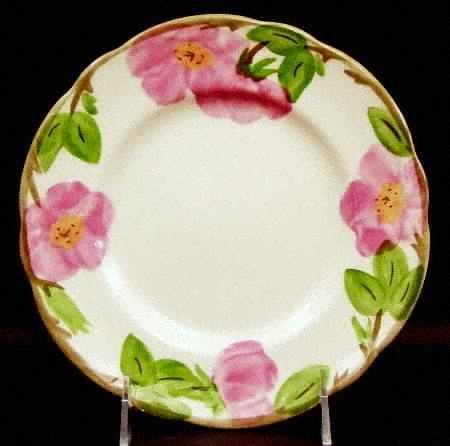 "China Salad Plate 7 7/8"" ~ Franciscan Dinnerware ~ Desert Rose ~ Dinnerware Dishes"