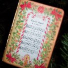 Vintage Silent Night Holy Night Vinyl Book Ornament Old Ornaments ORN5 box3
