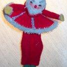 Vintage Felt Santa Ornament Old Ornaments ORN10 location3