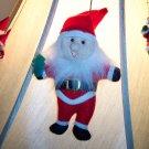 Vintage Stuffed Felt Elf Santa Ornament Old Ornaments 1M