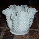 Westmoreland English Hobnail Pinch Fluted Large Vase
