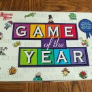 Game Of The Year Boardgame University Games Complete Like New loc4
