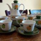 Seltmann Weiden K Bavaria Coffee Set Fruits China Dinnerware location18 Demitasse