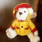 Brass Button Bear Russel Yellow Raincoat Bear Plush Stuffed Animal Toy location94