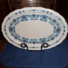 Sango Wild Country Drummer Boy 8504 Oval Platter Plate China Dinnerware locational2