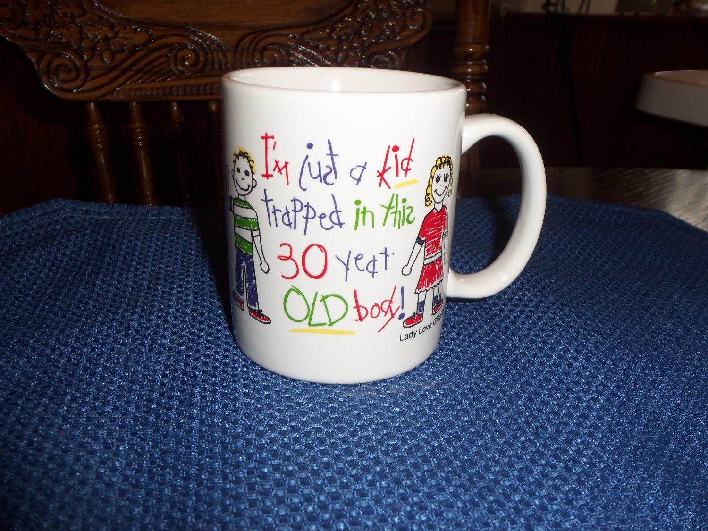 Lady Love Gifts 30 Year Old Joke Birthday Coffee Cup Mug