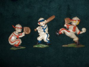 Vintage Sexton 1970 Baseball Theme Players Wall Art locational2