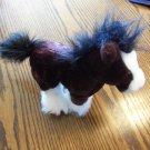 Ganz Webkinz Clydesdale Horse Plush Stuffed Animal Toy locationO2