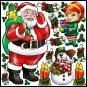 Giant Christmas Reusable Decal Stickers