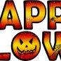 Reusable Happy Halloween Letter Kit
