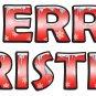 Reusable Merry Christmas Letter Kit