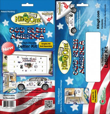 Reusable Happy 4th of July Letter Kit