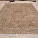 9x12 AREA RUG PERSIAN VEGETABLE DYE WOOL GREY GREEN NEW