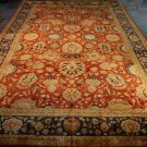 12x18 WOOL AREA RUG PERSIAN HANDMADE RED BLUE KNOTTED