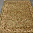 10x13 GREEN IVORY GOLD RUG SHAW HOME 3V176/12300 NYLON NEW ROYAL COUNTRYSIDE