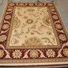 10x13 IVORY RED AREA RUG RADICI COMO GOLD TAN LARGE OVERSIZE NEW