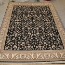 10x13 BLACK IVORY RED SLATE AREA RUG OW PINNACLE NEW TRADITIONAL PERSIAN CARPET