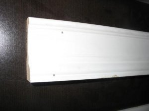 "3 1/4"" Primed Thin Howe Casing Pine Wood Molding/Moulding Trim 17'"