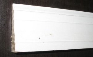 "2 1/4"" Primed Colonial Casing Pine Wood Molding/Moulding Trim 16'"