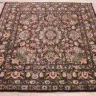 6x6 SQUARE WOOL HANDMADE AREA RUG PERSIAN FINE FLORAL