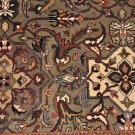 5 FT SQUARE WOOL HANDMADE AREA RUG PERSIAN FINE INDIA