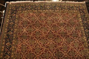 6x9 WOOL AREA RUG HANDMADE MASTERPIECE RICH COLORS NEW