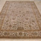 NEW 10x14 AREA RUG HANDMADE KNOTTED BEIGE TWISTED WOOL