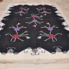 9x12 DHURRIE AREA RUG GEOMETRIC HAND WOVEN COTTON WOOL