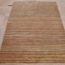 5x7 HAND KNOTTED WOOL AREA RUG MULTI COLOR TRANSITIONAL